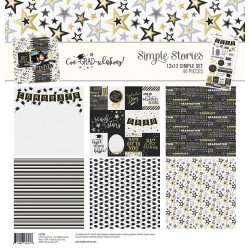 "Con-GRAD-utaltions! Simple Basic Kit 12""x12 Simple Stories"