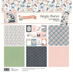 "Mom's Day Simple Set 12""x12 Simple Stories"