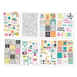 "Oh Happy Day Stickers 4""x6"" Simple Stories"