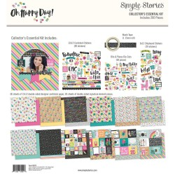 "Oh Happy Day Collector's Essential Kit 12""x12 Simple Stories"