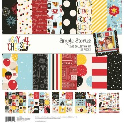 "Say Cheese 4 Collection Kit 12""x12 Simple Stories"