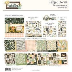 "Spring Farmhouse Collector's Essential Kit 12""x12 Simple Stories"