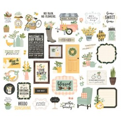 Spring Farmhouse Bits & Pieces Simple Stories