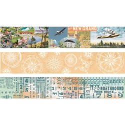 Simple Vintage Traveler Washi Tape Simple Stories