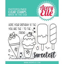 Sweetest Clear Stamp Set Avery Elle