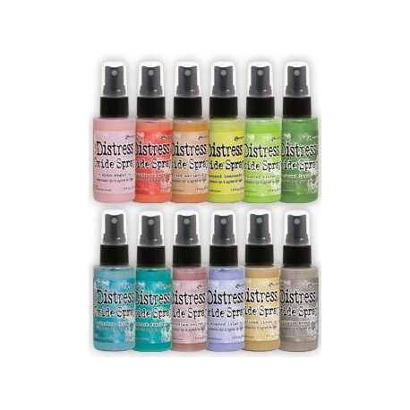Bundle 12 Distress Oxide Spray