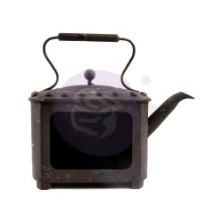 Rusty Pot Metal Frame by Finnabair Prima Marketing
