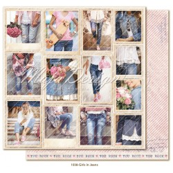 "Girls in Jeans 12""x12"" Denim & Girls Collection"