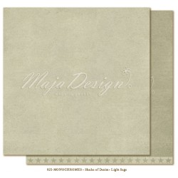 "Light Sage Monochromes Shades Of Denim 12"" x 12"" Maja Design"