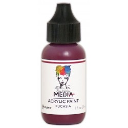 Fuchsia Media Heavy Body Acrylic Paint Dina Wakley Ranger