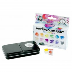 Bold & Bright Watercolor Paint Set Aquarelset Art by Marlene 2.0 Studio Light