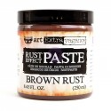 Brown Rust Effect Paste Art Extravagence Finnabair Prima Marketing