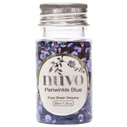 Perwinkle Blue Sequins Nuvo Tonic Studios