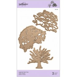 Layered Oak Tree Die Spellbinders