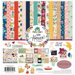 "Our House Collection Kit 12""x12"" Carta Bella"