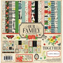 "Our Family Collection Kit 12""x12"" Carta Bella"
