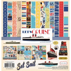"Let's Cruise Collection Kit 12""x12"" Carta Bella"