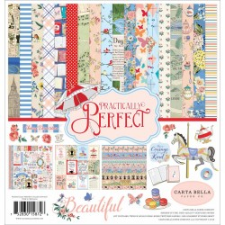 "Practically Perfect Collection Kit 12""x12"" Carta Bella"