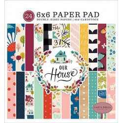 "Our House Paper Pad 6""x6"" Carta Bella"