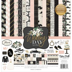 "Wedding Day Collection Kit 12""x12"" Echo Park"