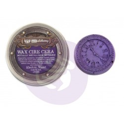 Electric Violet Wax Metallic by Finnabair Art Alchemy Prima Marketing