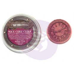 Indian Pink Wax Metallic by Finnabair Art Alchemy Prima Marketing