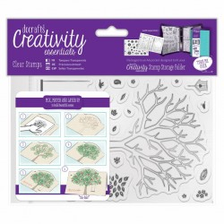 Build a Tree A6 Clear stamp Set Docrafts