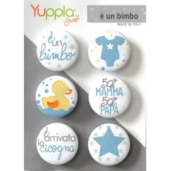 Buttons é un bimbo Yuppla Craft
