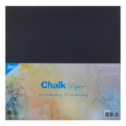 "Chalk Paper 12""x12"" x 20 - 220 gr Joy! Crafts"