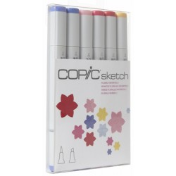 Floral Favorites 2 Copic Sketch Set 6 Colori
