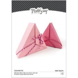 Triangle Box Fustella Modascrap