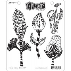 Glorious Blooms Dyan Reaveley's Dylusions Cling Stamp