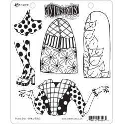 Paper Doll Dyan Reaveley's Dylusions Cling Stamp