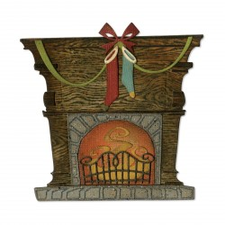 Fireside Thinlits Dies By Tim Holtz Sizzix