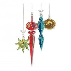 Hanging Ornaments Thinlits Dies By Tim Holtz Sizzix
