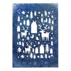 Nordic Winter Thinlits Dies By Tim Holtz Sizzix