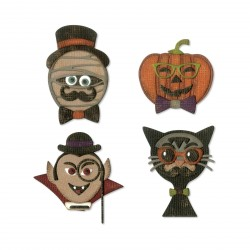 Hip Haunts Thinlits Dies By Tim Holtz Sizzix
