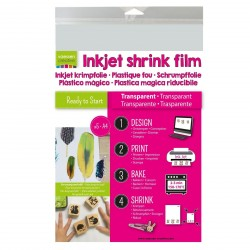 Transparent Inkjet Shrink Film Vaessen Creative