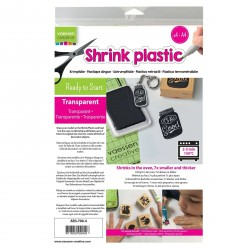 Transparent Shrink Plastic Vaessen Creative