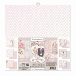 Wedding Selected Papers for Scrapbooking Stamperia