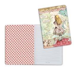 Alice A5 Notebook Stamperia