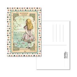 Alice Postcard 10x15 cm Stamperia