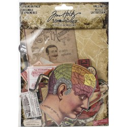 Halloween Ephemera Pack Idea-ology by Tim Holtz