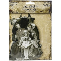 Halloween Paper Dolls Idea-ology by Tim Holtz