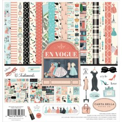 "En Vogue Collection Kit 12""x12"" Carta Bella"