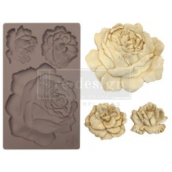 Etruscan Rose Re-Design Decor Mould Prima Marketing