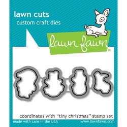 Tiny Christmas Custom Craft Dies Lawn Fawn