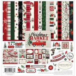 "Christmas Market Collection Kit 12""x12"" Carta Bella"