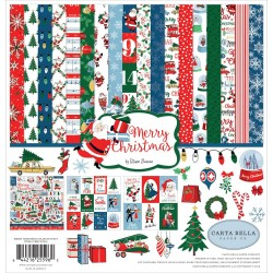 "Merry Christmas Collection Kit 12""x12"" Carta Bella"
