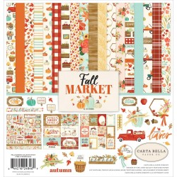 "Fall Market Collection Kit 12""x12"" Carta Bella"